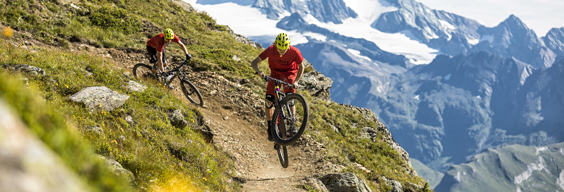 Downhillbiken und Freeriden in Tirol - Bikepark Kals am Großglockner - copyright Andreas Meyer